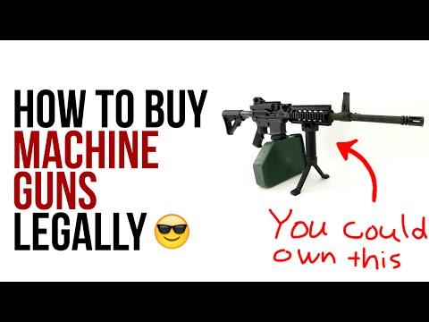 How To Buy A Machine Gun