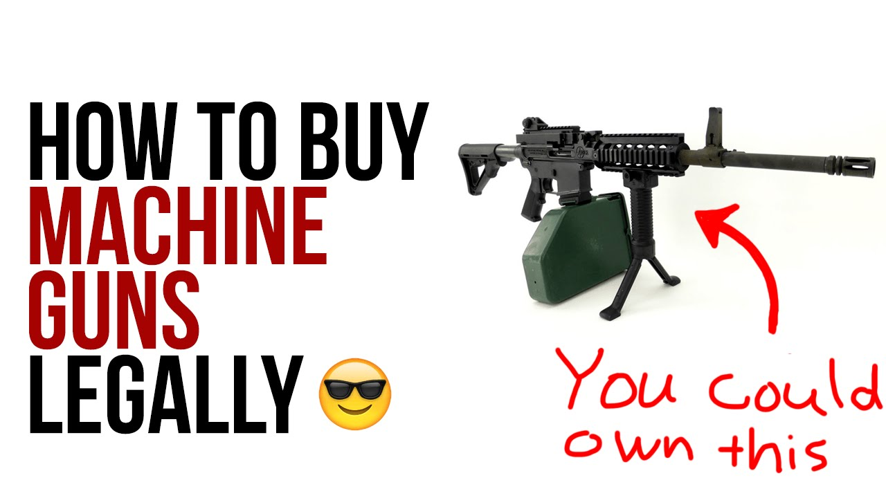 can you buy a machine gun