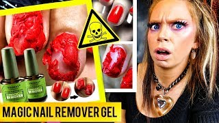 The TRUTH about 'POPPING' Nail Polish Remover- Does This Thing REALLY WORK?!