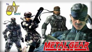 Metal Gear Solid 1 - The Best Is Yet To Come  W/lyrics