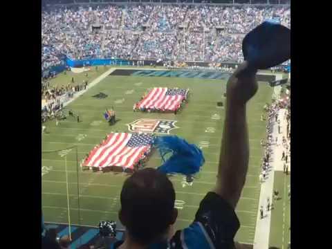 Bank of America Stadium Fly Over