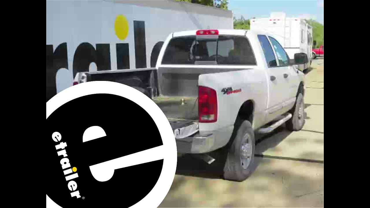 Trailer Wiring Harness Installation  2004 Dodge Ram Pickup  etrailer  YouTube