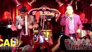 Ray Sepulveda & Johnny Rivera - No vale la pena enamorarse (Live New York 2014) HD