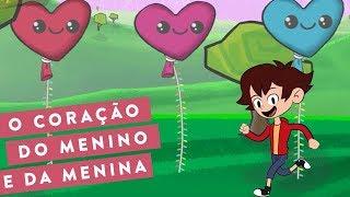 O CORAÇÃO DO MENINO E DA MENINA - AVENTURA MUSICAL (Português)