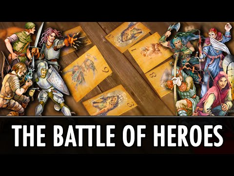 Skyrim Mod: The Battle of Heroes - Minigame Mod