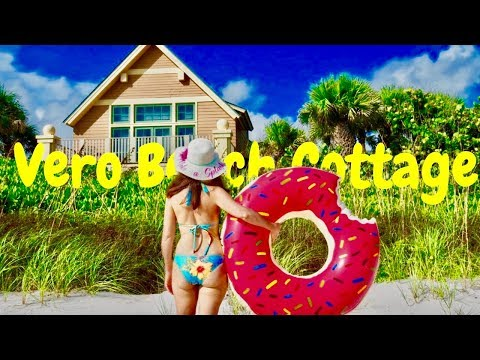 DISNEY'S VERO BEACH Ocean Front Beach Cottage Tour ~ Surfers And Saving Baby Sea Turtles