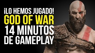 14 MINUTOS de GAMEPLAY - GOD OF WAR, ¡Lo hemos JUGADO!