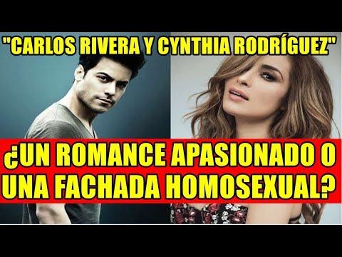 CARLOS RIVERA Y CYNTHIA RODRÍGUEZ ¿UN ROMANCE APASIONADO O UNA FACHADA HOMOSEXUAL?