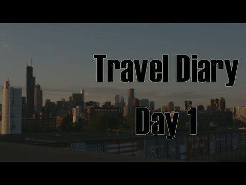 Travel Diary | Chicago Day 1| Autumn Flowers
