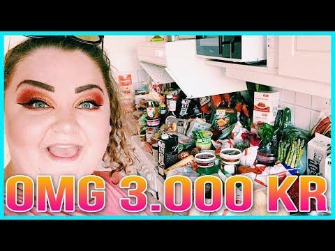 STORHANDLA MAT MED MIG FÖR 3.000KR | GALET MYCKET MAT!
