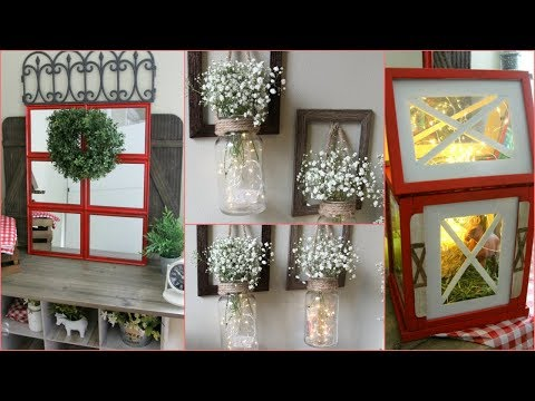 DOLLAR TREE BARN FARMHOUSE DECOR 2018