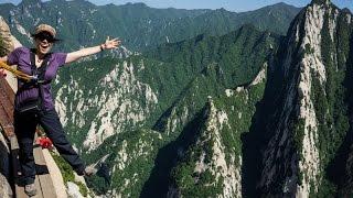 THE WORLD'S MOST DANGEROUS HIKE!!! - Mount Huashan, China