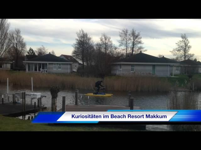 Rad-Katamaran-Angler in Makkum