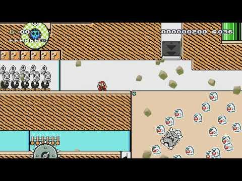 今月もスピランを楽しもう♪ Speedrun  (40sec) by A's/ズルニャン♪ - Super Mario Maker - No Commentary