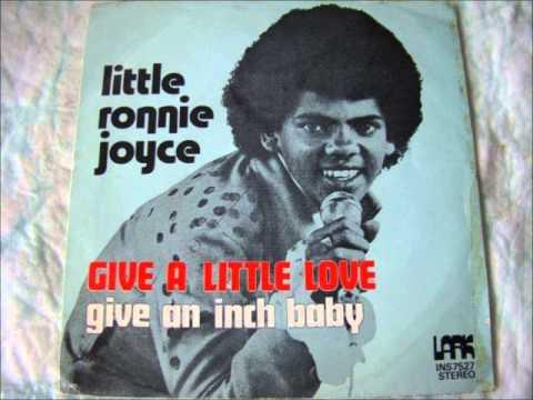 Little Ronnie Joyce - Give a little love