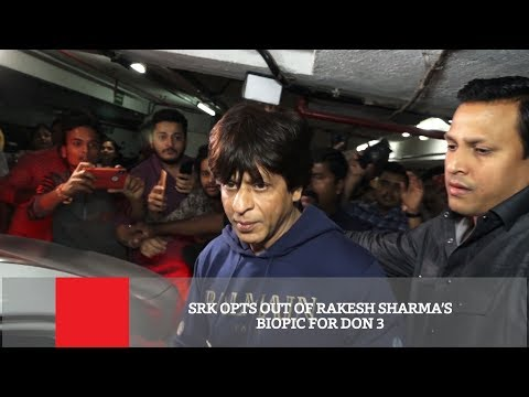 SRK Opts Out Of Rakesh Sharma's Biopic For Don 3 Mp3