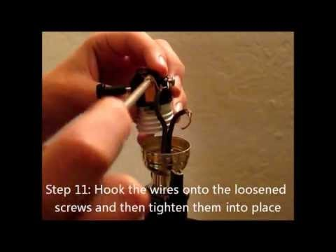 How to replace a lamp light switch youtube greentooth Image collections