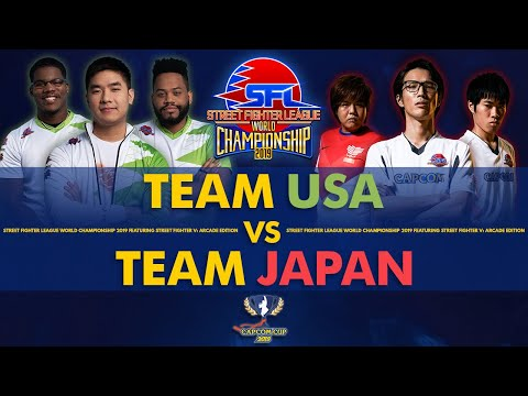 Team USA vs Team Japan - Street Fighter League World Championship 2019 - Grand Finals