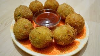 Potato Cheese Balls By  Chef Shaheen