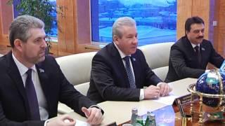 Президент Татарстана встретился с председателем Думы Ханты-Мансийского автономного округа