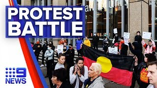 Sydney protest locked in Supreme Court battle | Nine News Australia