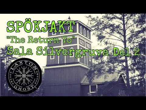 Spöken Paranormal Investigation of Return to Sala Silvergruva part 2. LaxTon Ghost Sweden Spökjägare