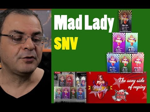 Mad Lady SNV LIVE Greek Review  - Συνέντευξη με τον κατασκευαστή των Mad juice