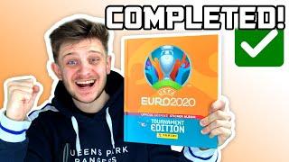 I *COMPLETED* my PANINI EURO 2020 Sticker Album!! (Tournament Edition!)