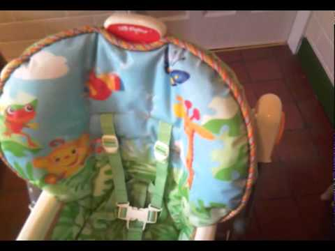 Rainforest High Chair Benefits Of Massage Fisher Price Youtube
