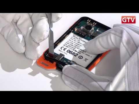 Sony Ericsson Xperia Active  - как разобрать смартфон и его обзор