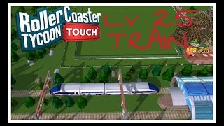 unlocking the train   what does it do   rollercoaster tycoon touch   rct touch