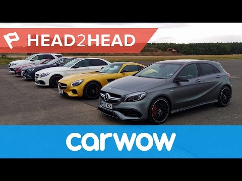Ultimate Mercedes-AMG Drag Race: six cars... 2983hp... one winner! | Head2Head