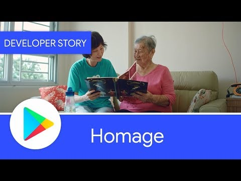 Android Developer Story: Homage finds success on Google Play with Start on Android