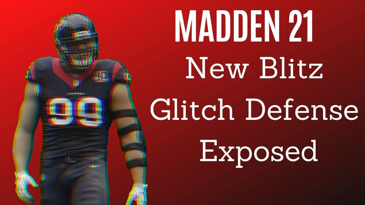 New Blitz Glitch Defense 34 bear Exposed  Madden 21