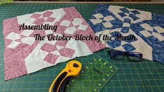 Assembling The October Block of the Month