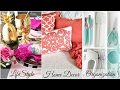 HOME ORGANIZATION   Huge Shopping Haul   LifeStyle + Home Decor + Organization