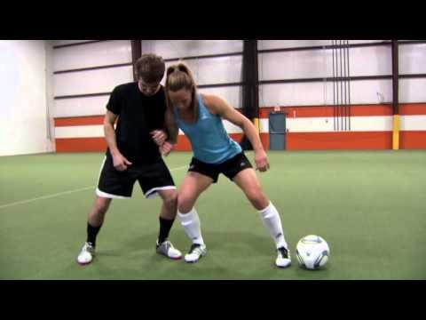 Christie Rampone Soccer Tip #3 - Shielding