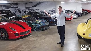 The Amazing Secret Cars and Garages of LOS ANGELES!