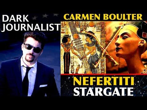 NEW ATLANTIS RISING: NEFERTITI EGYPT HOTZONE STARGATE MYSTERY! DR. CARMEN BOULTER