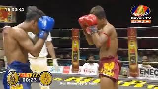 Best Boxing Porn Peuk Vs Puong Pisith, 29,06,2019, Kun Khmer Boxing