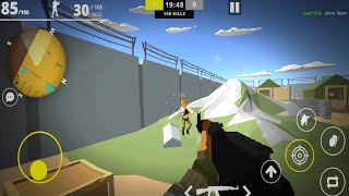Strike War Polygon - FPS Online Shooting Game : Android GamePlay FHD. #4
