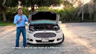 motoraty test drive Ford Fusion 2015 موتوراتي - تجربة قيادة سيارة فورد فيوجن