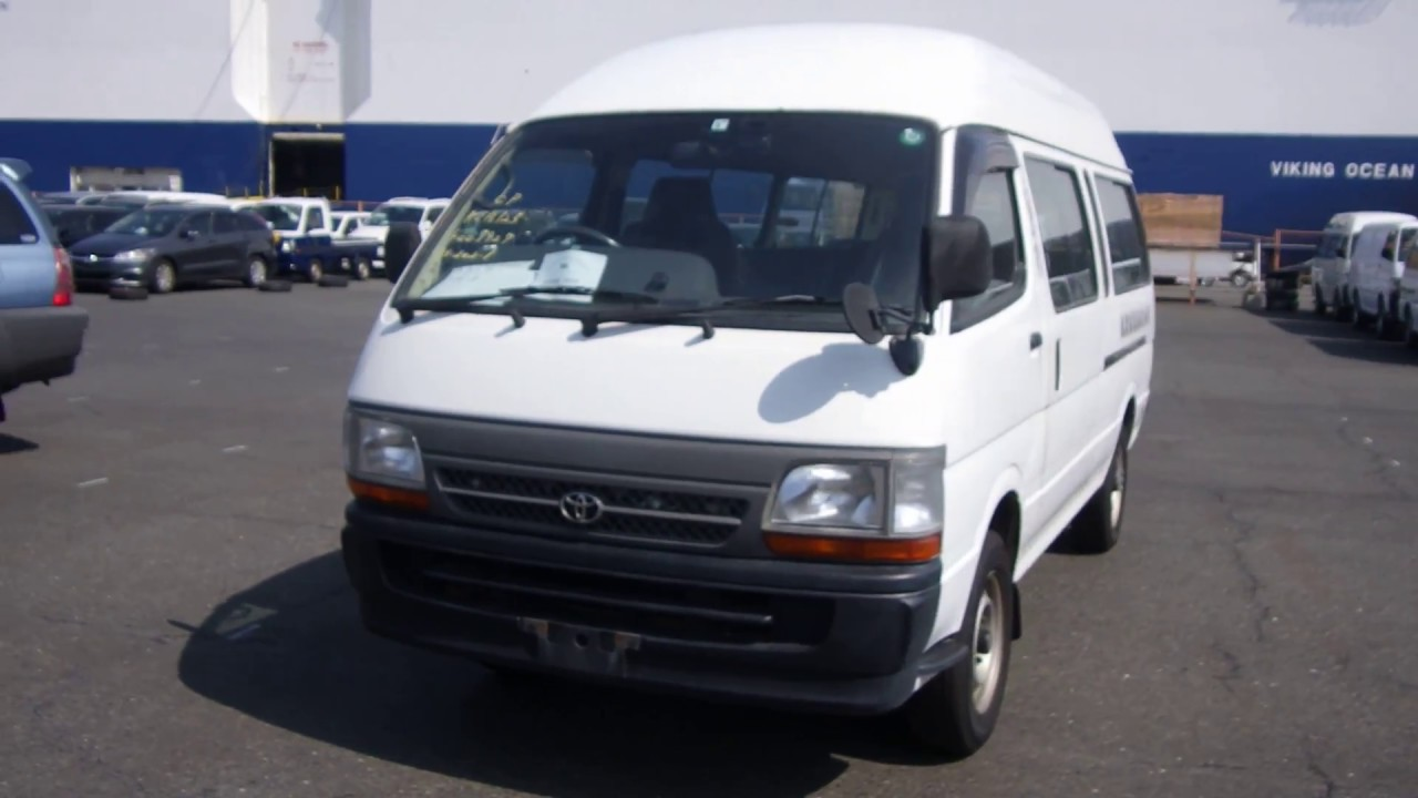 80afcffde0 Used 2002 AT Toyota Hiace Commuter RZH125B 2005 3 for sale Code  EP3WF