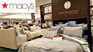Shop With ME MACY'S BEDDING DECOR CALVIN KLEIN CHARTER CLUB WALK THROUGH MARCH 2018