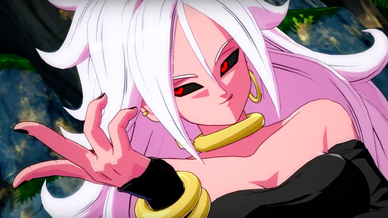 Dragon Ball Fighterz Official Android 21 Trailer - Youtube-5184