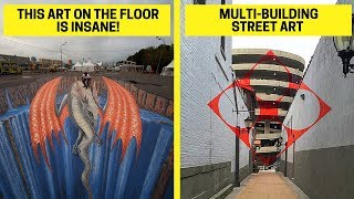 """""""Wow"""" Examples of Street Art That Made Us Gasp (Street Art Paintings)"""