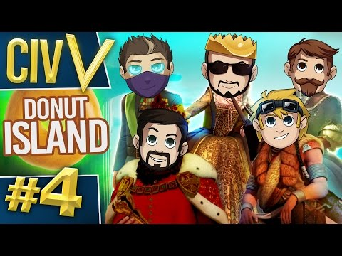 Civ V: Donut Island #4 I've Got A Solid