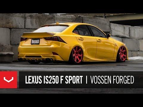 """Lexus IS250 F Sport   """"Boston's LEXVIP""""   Vossen Forged CG-207"""