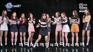 [ENG SUB] 161103 M Countdown - I.O.I Dance Together 2nd Episode Full Cut