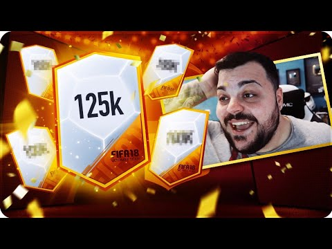 TOTGS PACK OPENING - PACCHETTI DA 125K !!! [FIFA 18]